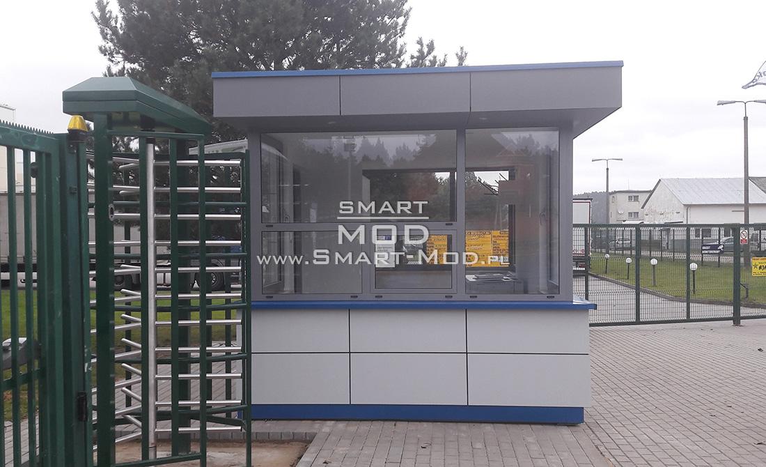 portiernie kontenerowe modułowa przy wejściu