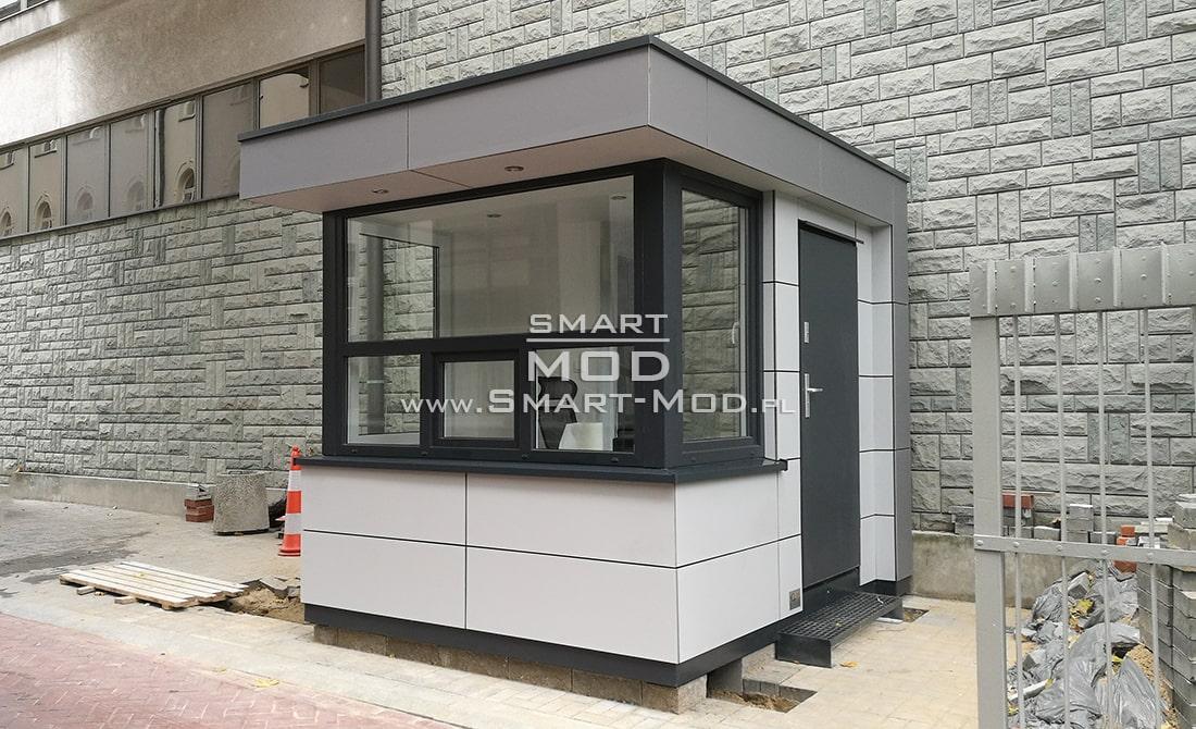 stróżówki modułowe
